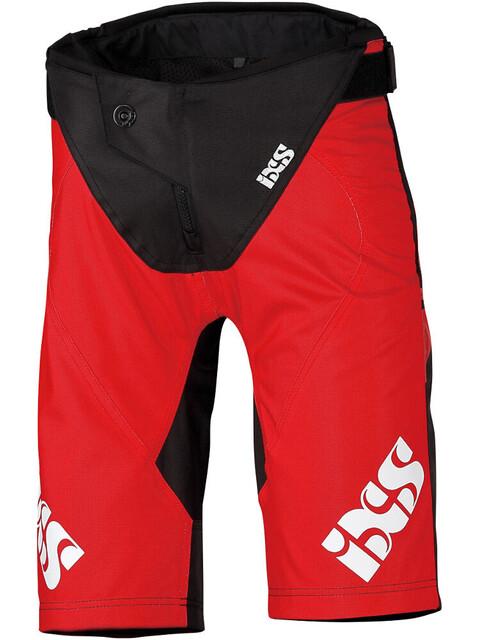 IXS Race Cykelbukser Børn rød/sort